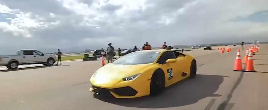 Lamborghini Huracan reușește să ajungă la 418 km/h (VIDEO)